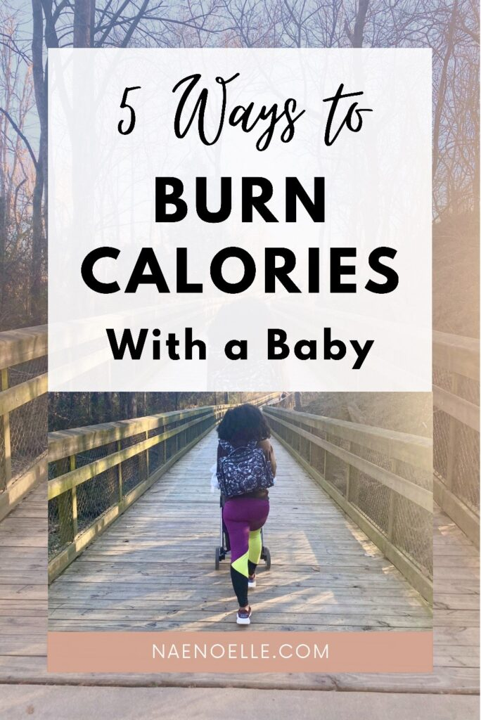 Burn calories with a baby